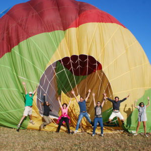 Airona shared balloon trip